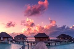 Закат на Мальдивах
