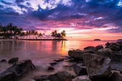 Закат на Маврикии