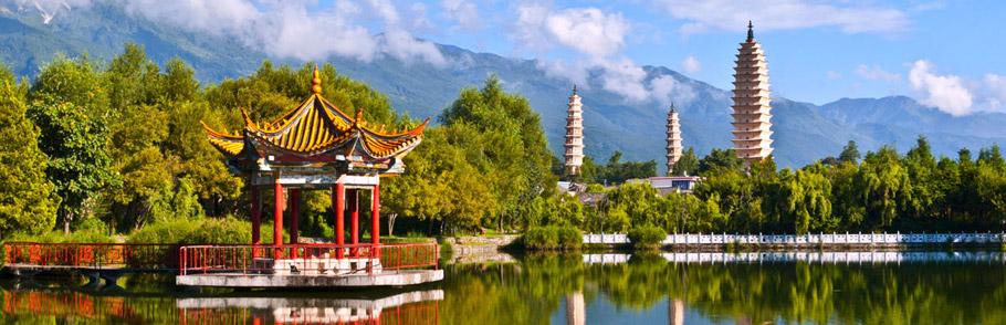 Белые пагоды в Китае
